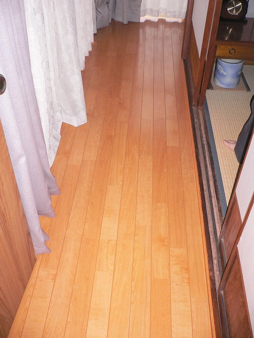 廊下の床の張り替えリフォーム|埼玉県三芳町のS様邸