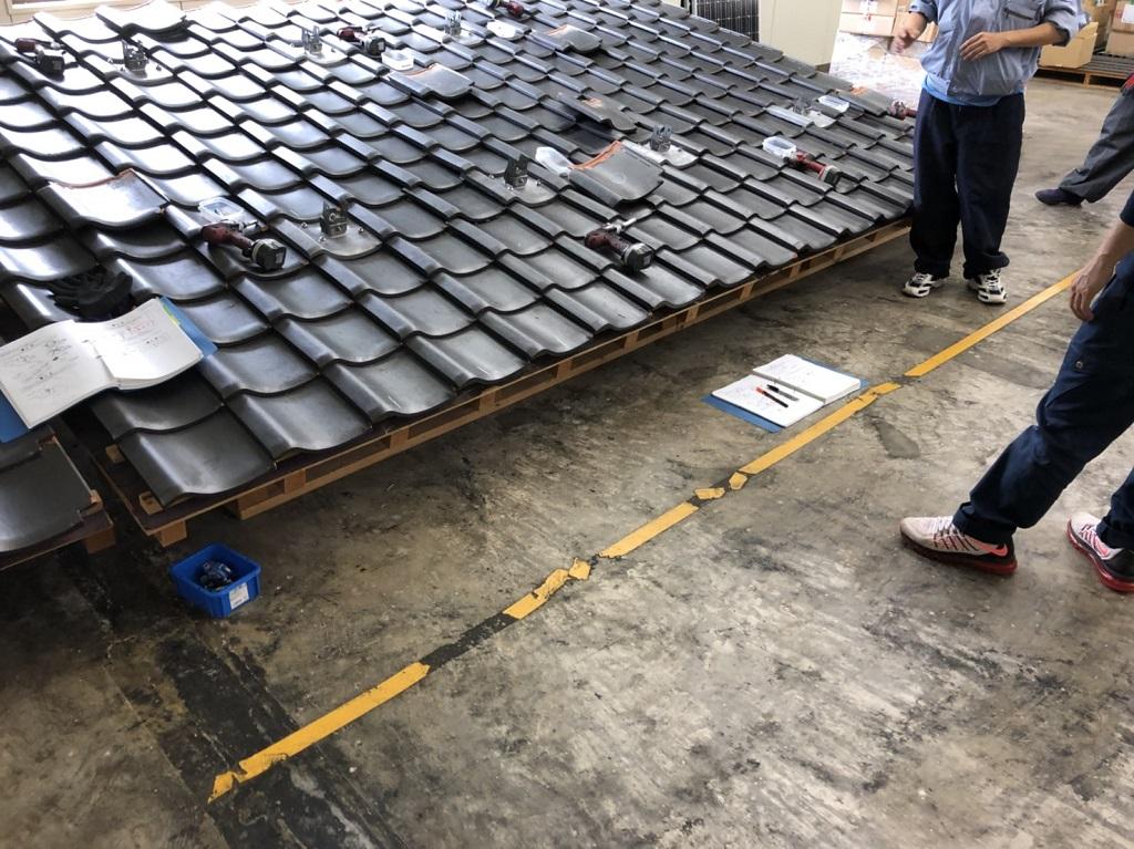 太陽光発電の施工研修