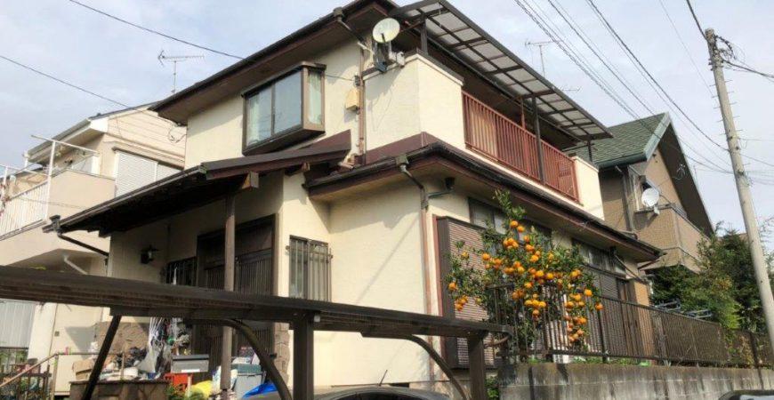 外壁・木部・付帯部の塗装工事|東京都八王子市のS様邸にて塗り替えリフォーム