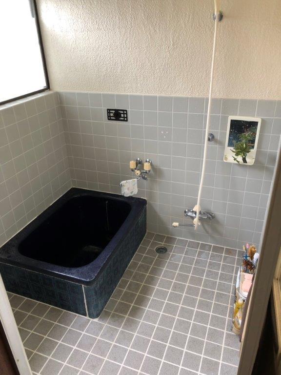 浴室の改修工事