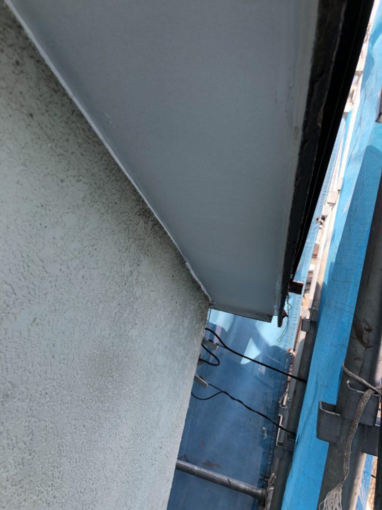 軒天の張り替え補修後