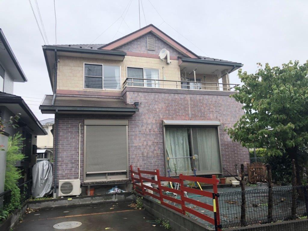 外壁・屋根塗装前の足場掛け工事|埼玉県川越市のO様邸にて塗り替えリフォーム