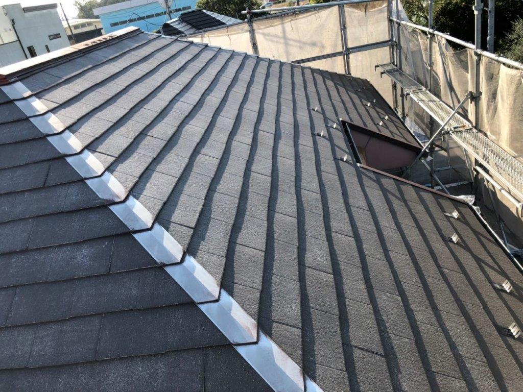 屋根の塗装工事前