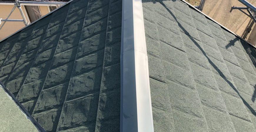 金属屋根への葺き替え工事 埼玉県川越市のK様邸にて改修工事