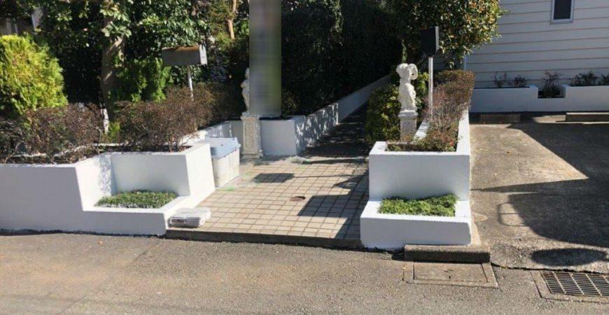 外構の塗装工事 東京都国分寺市のS様邸にて塗り替えリフォーム
