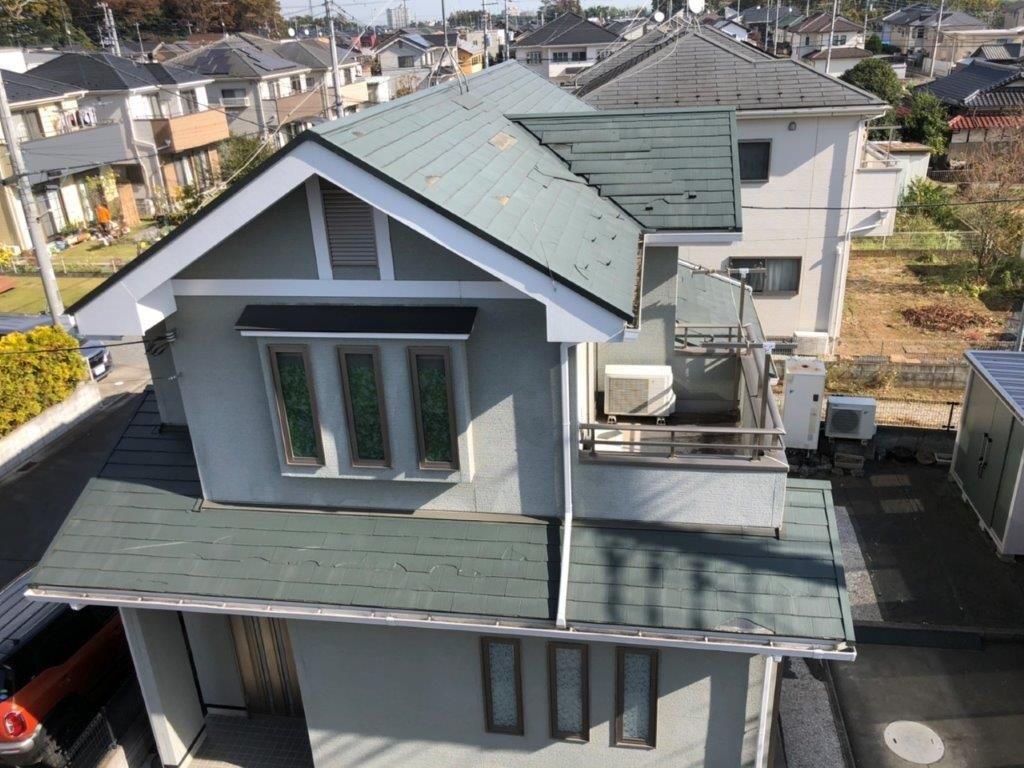 屋根工事前の状態