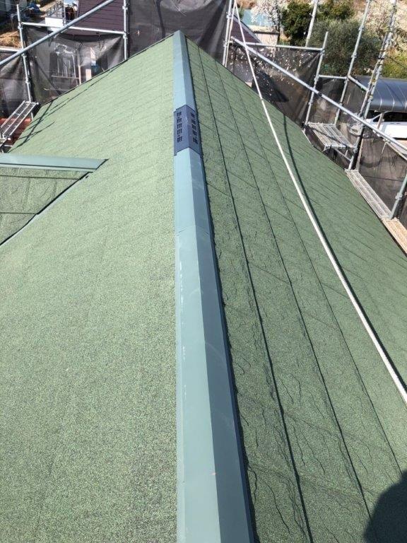 金属屋根への葺き替え工事|埼玉県川越市のT様邸にて改修工事