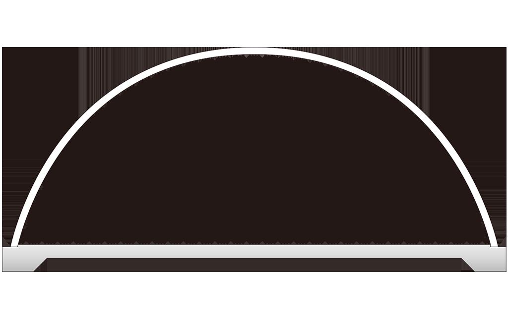アーチビルディングの構造のシミュレーション