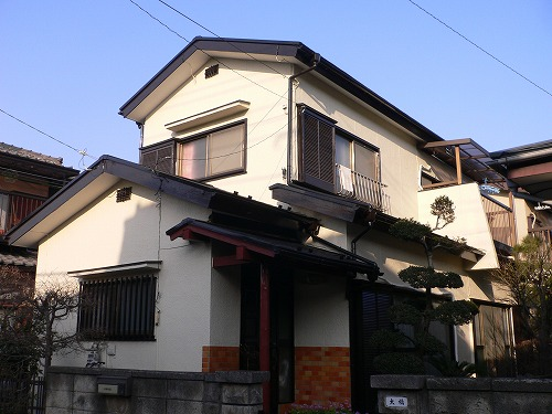 外壁の塗装工事|埼玉県富士見市のO様邸