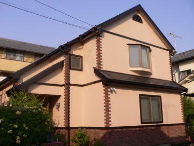 外壁・屋根の塗装工事・ベランダウッドデッキのリフォーム