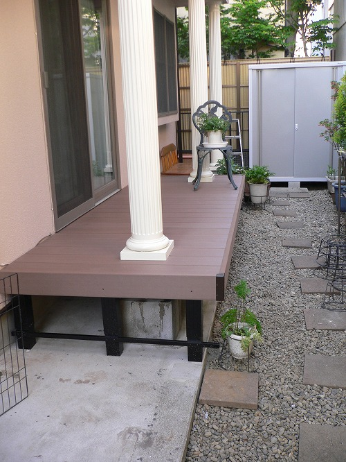 外壁・屋根の塗装工事・ベランダウッドデッキのリフォーム|埼玉県川越市旭町のK様邸