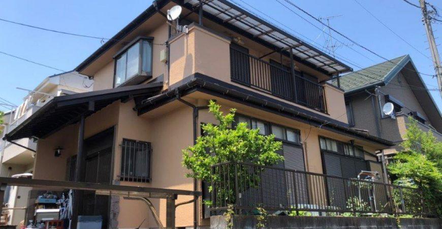 外壁・木部・付帯部の塗装工事 東京都八王子市のS様邸にて塗り替えリフォーム