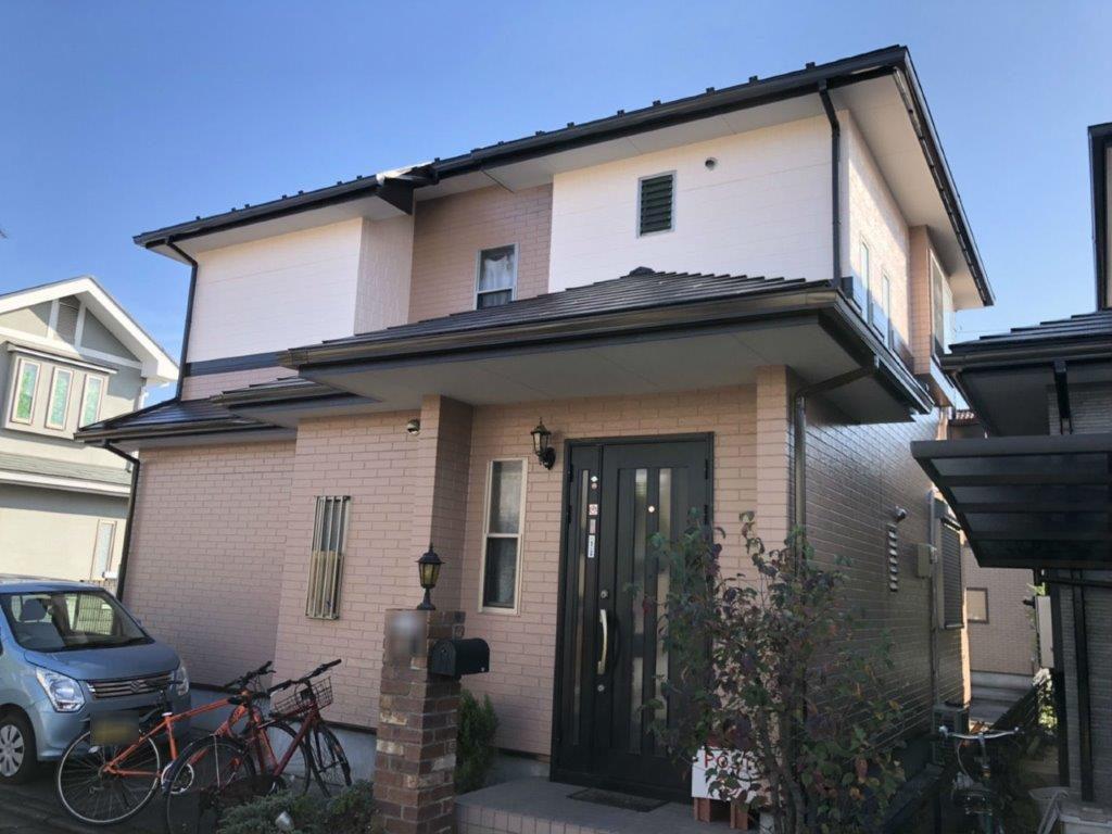 外壁・屋根の塗装工事|埼玉県川越市笠幡のO様邸にて塗り替えリフォーム