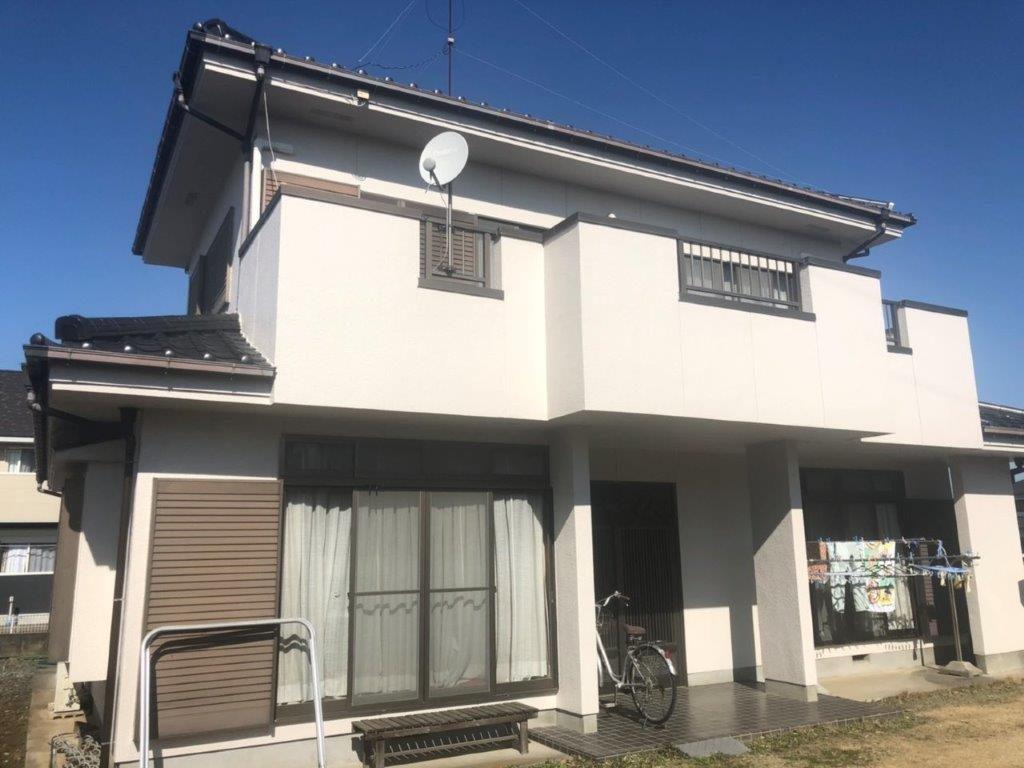 外壁の塗装工事|埼玉県川越市のK様邸にて塗り替えリフォーム